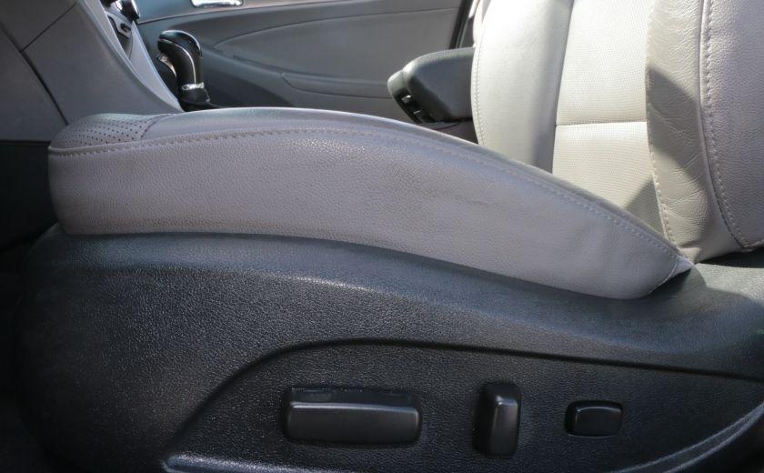 2012 Hyundai Sonata Hybrid A/C CUIR BLUETOOTH MAGS #3
