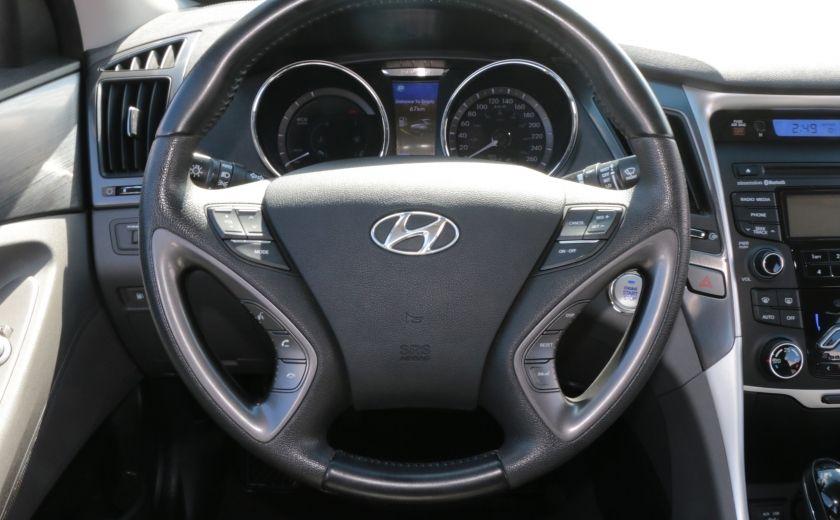 2012 Hyundai Sonata Hybrid A/C CUIR BLUETOOTH MAGS #6