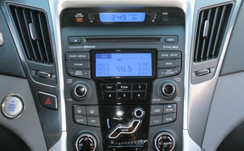 2012 Hyundai Sonata Hybrid A/C CUIR BLUETOOTH MAGS #7