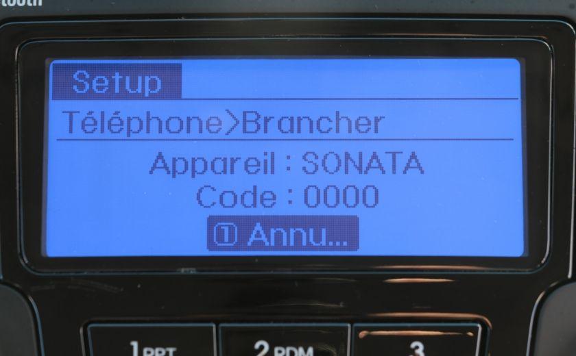 2012 Hyundai Sonata Hybrid A/C CUIR BLUETOOTH MAGS #8