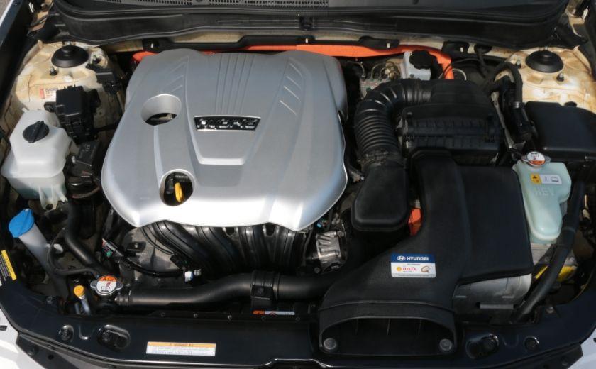 2012 Hyundai Sonata Hybrid A/C CUIR BLUETOOTH MAGS #21