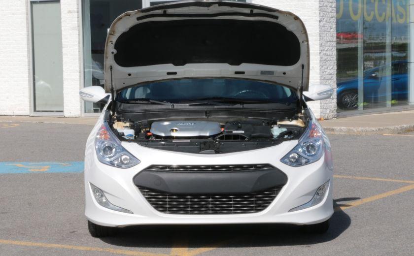 2012 Hyundai Sonata Hybrid A/C CUIR BLUETOOTH MAGS #23