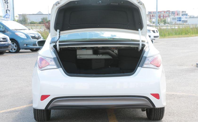2012 Hyundai Sonata Hybrid A/C CUIR BLUETOOTH MAGS #24