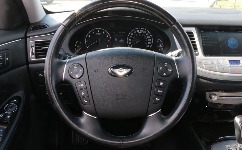 2012 Hyundai Genesis w/Technology Pkg A/C CUIR TOIT NAV CAMERA BLUETOOT #7