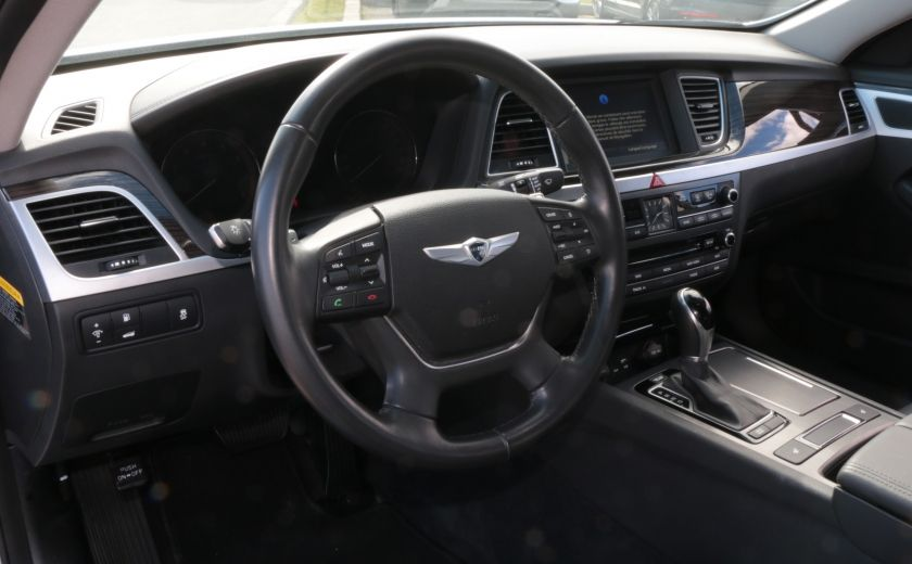 2015 Hyundai Genesis Premium A/C CUIR NAV CAMERA BLUETOOTH MAGS #8