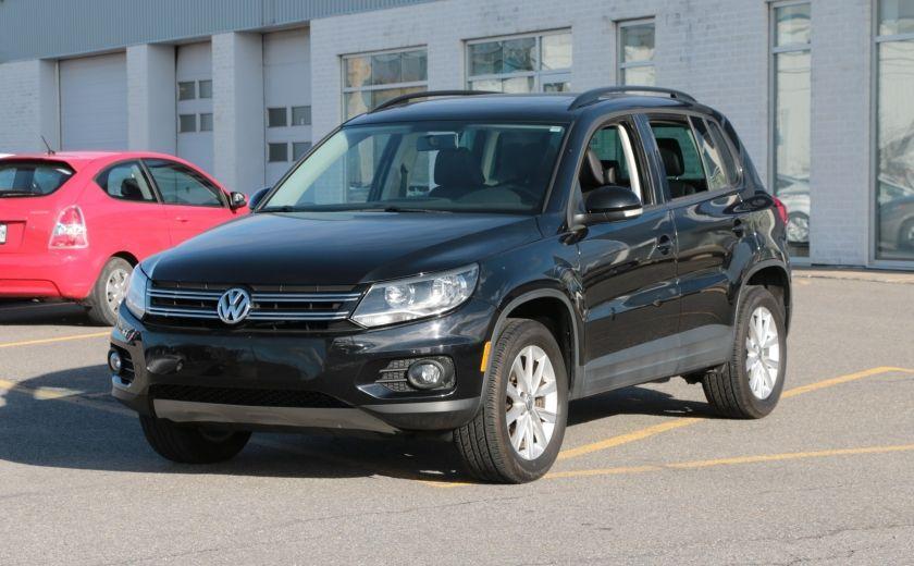 2013 Volkswagen Tiguan Comfortline 4MOTION A/C CUIR TOIT PANO #2