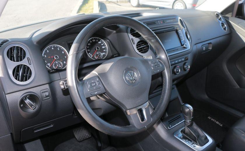2013 Volkswagen Tiguan Comfortline 4MOTION A/C CUIR TOIT PANO #8