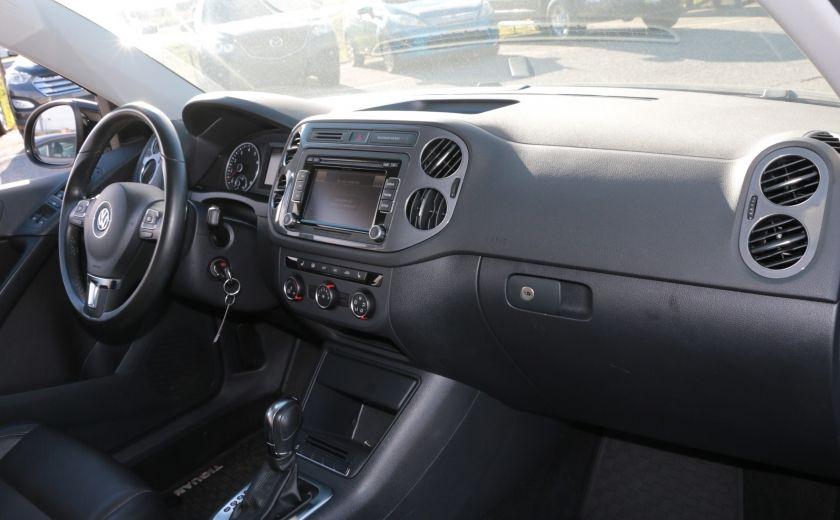 2013 Volkswagen Tiguan Comfortline 4MOTION A/C CUIR TOIT PANO #24