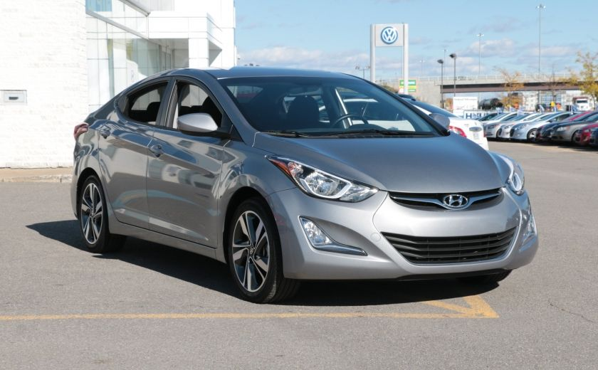 2016 Hyundai Elantra GLS MAN A/C CAMERA BLUETOOTH MAGS #0