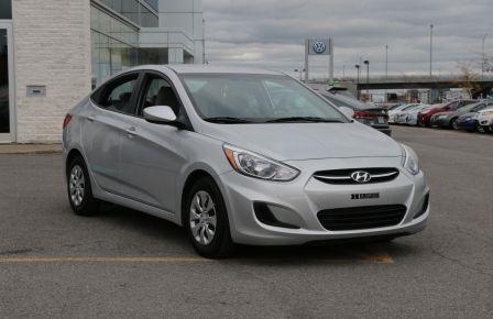 2016 Hyundai Accent GL AUTO A/C BLUETOOTH à Gatineau