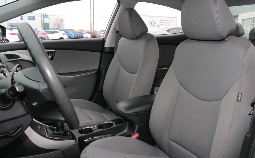 2013 Hyundai Elantra GL MAN A/C BLUETOOTH #9