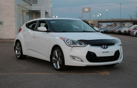 2013 Hyundai Veloster w/Tech A/C CUIR TOIT PANO CAMERA NAV BLUETOOTH MAG in Longueuil