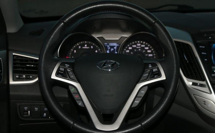 2013 Hyundai Veloster w/Tech A/C CUIR TOIT PANO CAMERA NAV BLUETOOTH MAG #14