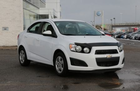2013 Chevrolet Sonic LS MAN A/C BLUETOOTH ONSTAR in Sherbrooke