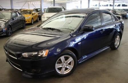 2013 Mitsubishi Lancer SE AWD 2.4L SIEGE CHAUFFANT MAIN LIBRES AILERON in Sept-Îles