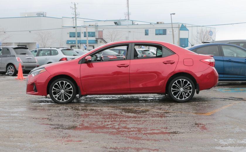 2014 Toyota Corolla S CVT CUIR-TISSUS TOIT BLUETOOTH HID #3