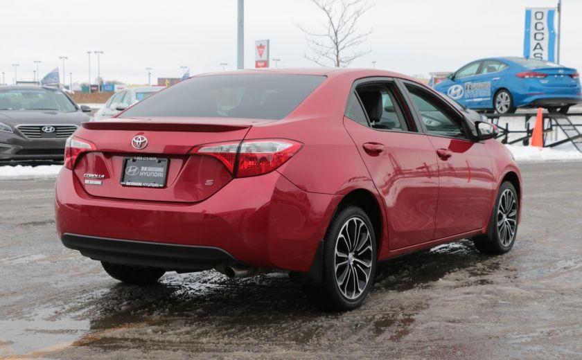 2014 Toyota Corolla S CVT CUIR-TISSUS TOIT BLUETOOTH HID #6