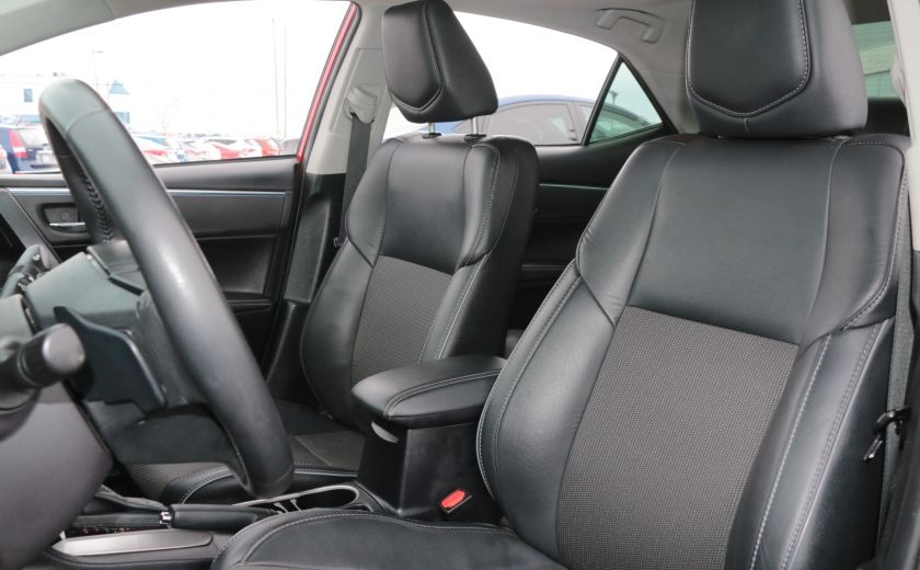 2014 Toyota Corolla S CVT CUIR-TISSUS TOIT BLUETOOTH HID #9