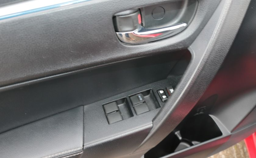 2014 Toyota Corolla S CVT CUIR-TISSUS TOIT BLUETOOTH HID #10