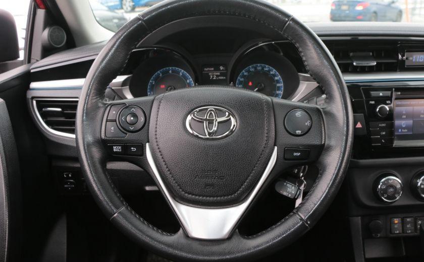 2014 Toyota Corolla S CVT CUIR-TISSUS TOIT BLUETOOTH HID #14