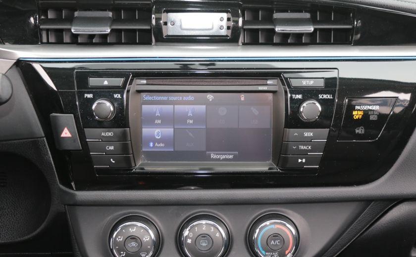 2014 Toyota Corolla S CVT CUIR-TISSUS TOIT BLUETOOTH HID #15