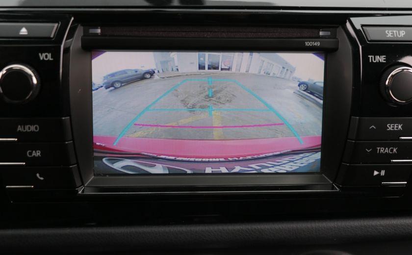 2014 Toyota Corolla S CVT CUIR-TISSUS TOIT BLUETOOTH HID #17