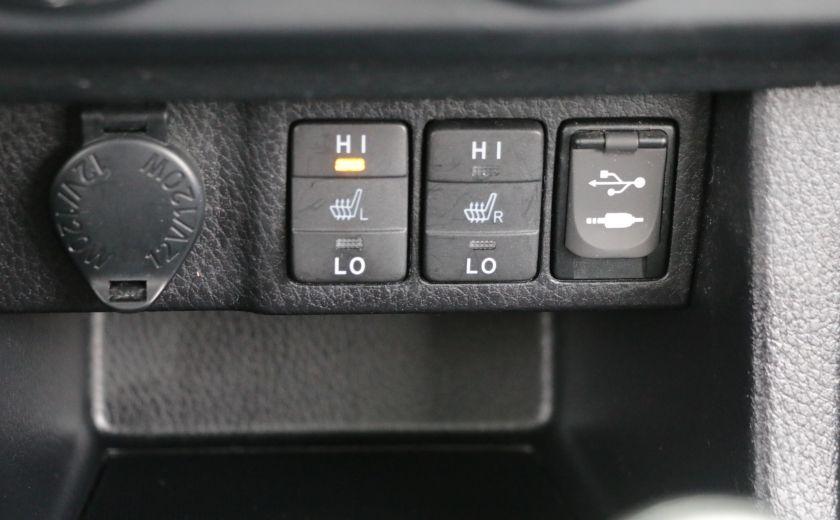 2014 Toyota Corolla S CVT CUIR-TISSUS TOIT BLUETOOTH HID #18