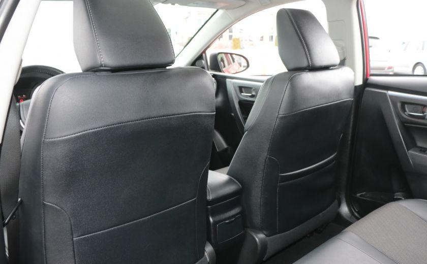 2014 Toyota Corolla S CVT CUIR-TISSUS TOIT BLUETOOTH HID #20