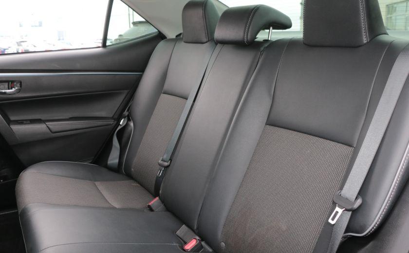 2014 Toyota Corolla S CVT CUIR-TISSUS TOIT BLUETOOTH HID #21