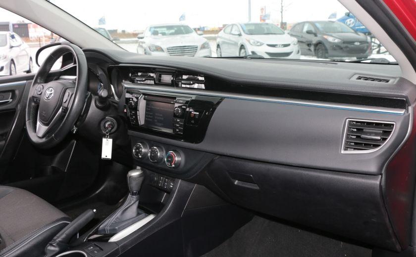 2014 Toyota Corolla S CVT CUIR-TISSUS TOIT BLUETOOTH HID #24