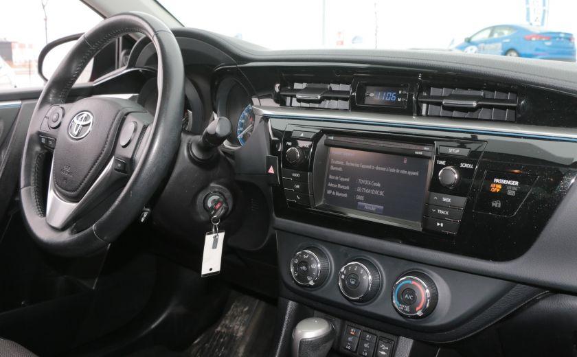 2014 Toyota Corolla S CVT CUIR-TISSUS TOIT BLUETOOTH HID #25
