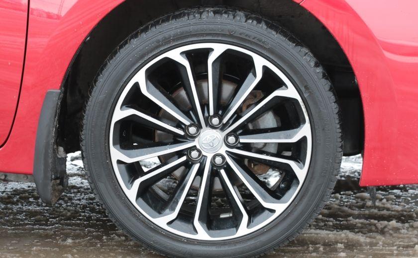 2014 Toyota Corolla S CVT CUIR-TISSUS TOIT BLUETOOTH HID #32