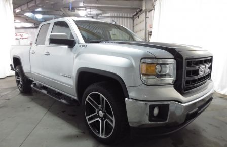 2015 GMC Sierra 1500 SLE BLACK EDITION DOUBLE CAB 4WD CUIR CAMÉRA 20'' in Abitibi
