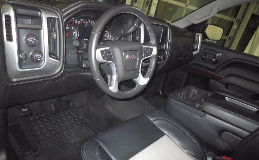 2015 GMC Sierra 1500 SLE BLACK EDITION DOUBLE CAB 4WD CUIR CAMÉRA 20'' #8