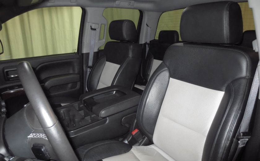 2015 GMC Sierra 1500 SLE BLACK EDITION DOUBLE CAB 4WD CUIR CAMÉRA 20'' #9