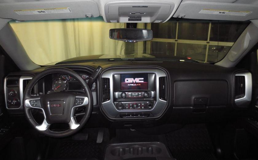 2015 GMC Sierra 1500 SLE BLACK EDITION DOUBLE CAB 4WD CUIR CAMÉRA 20'' #12