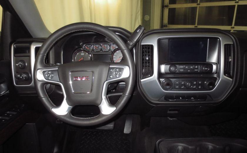 2015 GMC Sierra 1500 SLE BLACK EDITION DOUBLE CAB 4WD CUIR CAMÉRA 20'' #13