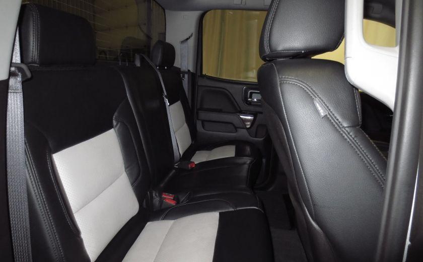 2015 GMC Sierra 1500 SLE BLACK EDITION DOUBLE CAB 4WD CUIR CAMÉRA 20'' #19