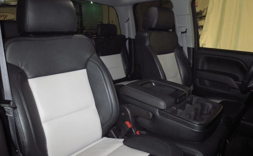 2015 GMC Sierra 1500 SLE BLACK EDITION DOUBLE CAB 4WD CUIR CAMÉRA 20'' #22