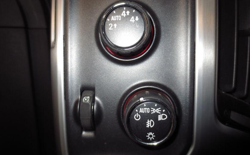 2015 GMC Sierra 1500 SLE BLACK EDITION DOUBLE CAB 4WD CUIR CAMÉRA 20'' #26