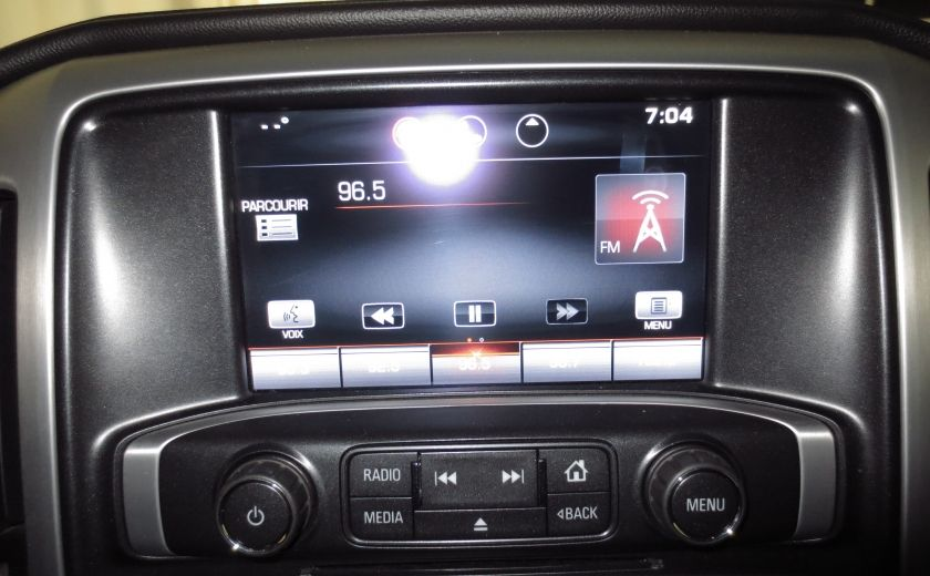 2015 GMC Sierra 1500 SLE BLACK EDITION DOUBLE CAB 4WD CUIR CAMÉRA 20'' #33