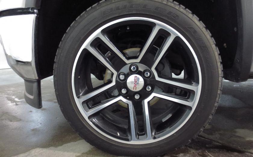 2015 GMC Sierra 1500 SLE BLACK EDITION DOUBLE CAB 4WD CUIR CAMÉRA 20'' #35