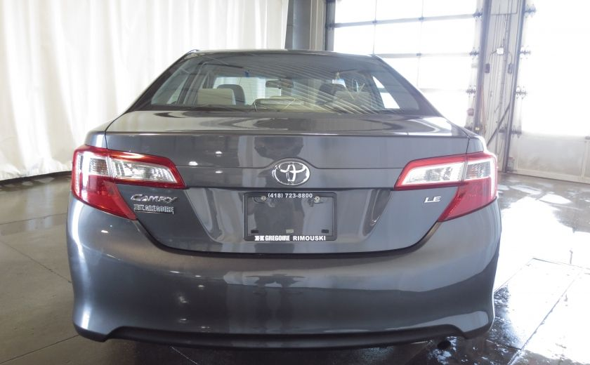 2012 Toyota Camry LE #5