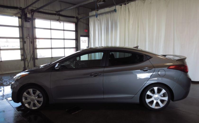 2013 Hyundai Elantra LIMITED CUIR TOIT NAVIGATION KIT DE SON(+DE 2000$) #3