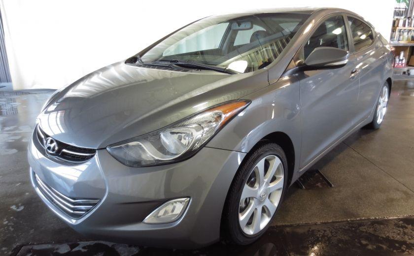 2013 Hyundai Elantra LIMITED CUIR TOIT NAVIGATION KIT DE SON(+DE 2000$) #2