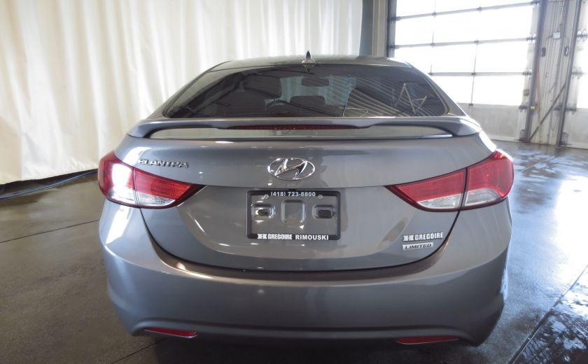 2013 Hyundai Elantra LIMITED CUIR TOIT NAVIGATION KIT DE SON(+DE 2000$) #5
