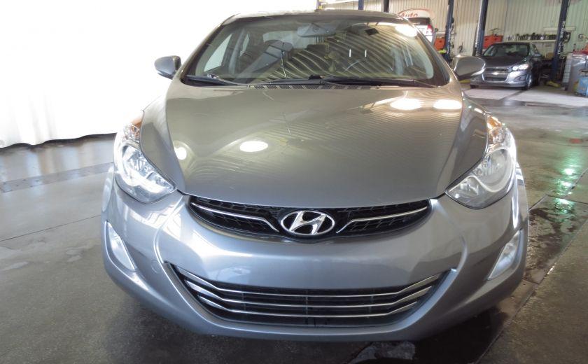 2013 Hyundai Elantra LIMITED CUIR TOIT NAVIGATION KIT DE SON(+DE 2000$) #1