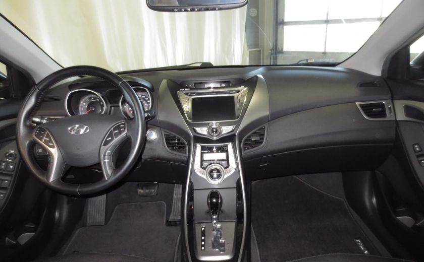 2013 Hyundai Elantra LIMITED CUIR TOIT NAVIGATION KIT DE SON(+DE 2000$) #13