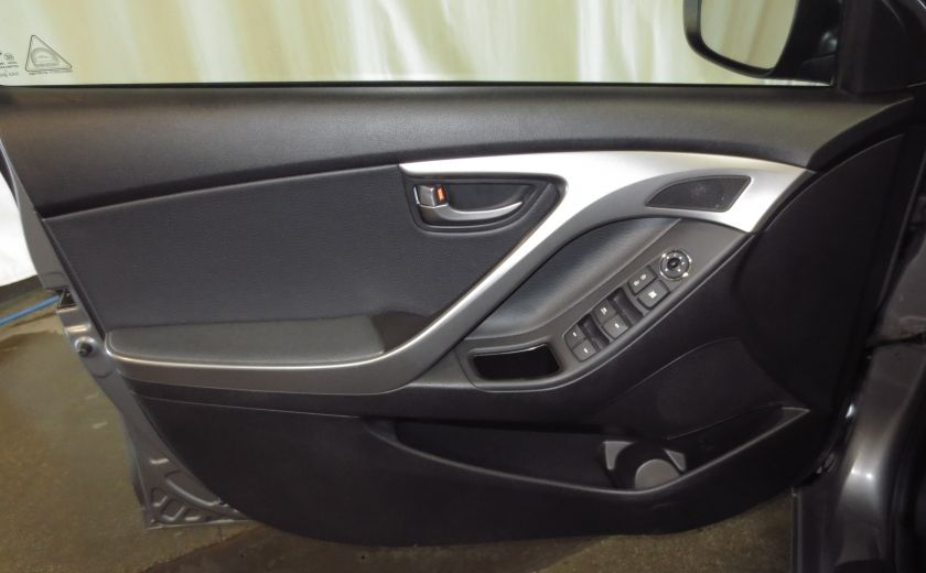 2013 Hyundai Elantra LIMITED CUIR TOIT NAVIGATION KIT DE SON(+DE 2000$) #11