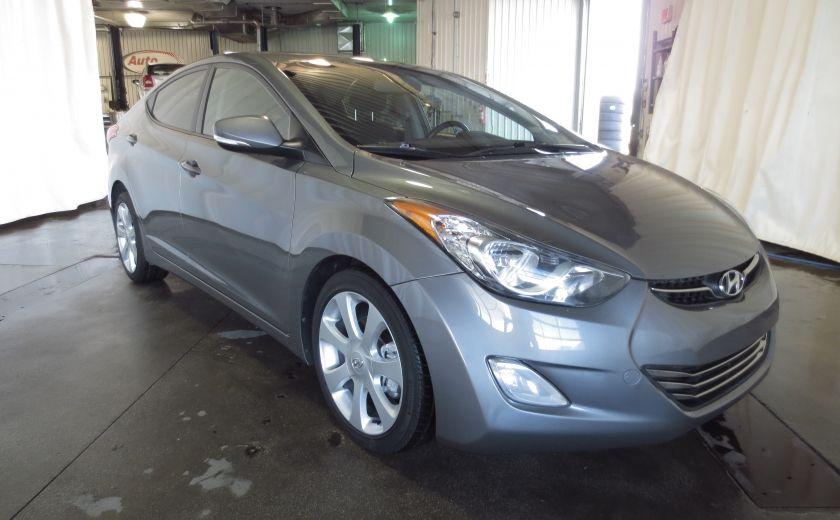 2013 Hyundai Elantra LIMITED CUIR TOIT NAVIGATION KIT DE SON(+DE 2000$) #0